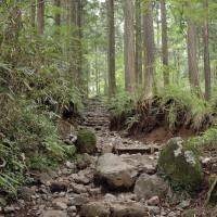 金時神社登山口